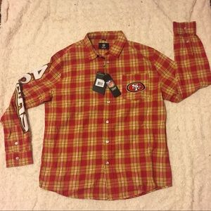 NFL Team Apparel  Other - NWT San Francisco 49ers NFL Flannel Shirt