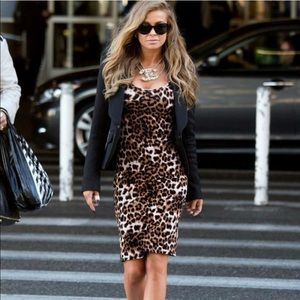 Xscape Dresses & Skirts - New with Tag! Xscape Leopard print Dress