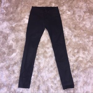 Blank Denim Denim - Flying Monkey Black Coated Skinny Jeans