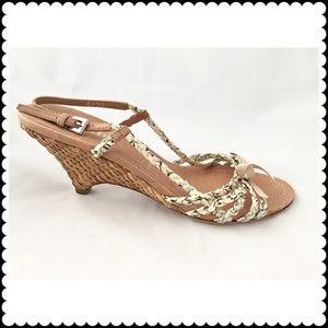 Prada Shoes - Prada Snake Wedge
