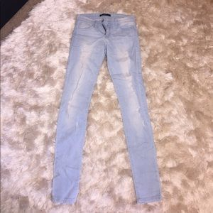 Blank Denim Denim - Flying Monkey Light Wash Skinny Jeans