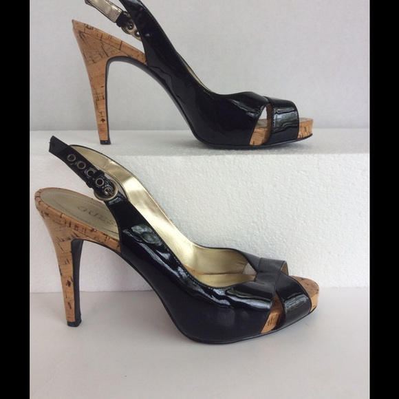 55 off guess shoes guess high heels shoes size 71 2 m from p 39 s closet on poshmark. Black Bedroom Furniture Sets. Home Design Ideas