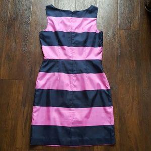 Banana Republic Dresses - Navy pink striped Banana Republic dress