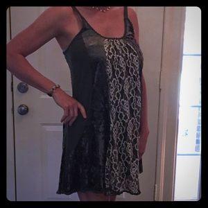 a'reve Dresses & Skirts - Exquisite dark green dress Size M 🖤.