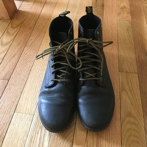 True to size black leather Doc Martens
