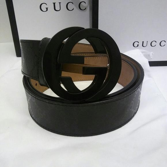 e2e9e32f373 Gucci Other - New Gucci Black Signature Impreme Belt