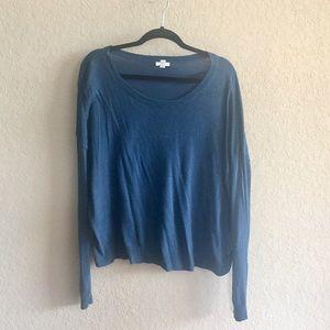bp Sweaters - Dark Teal BP Scoop Neck Sweater