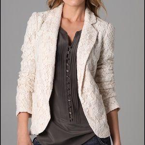 Rory Beca Jackets & Blazers - Rory Beca Sofia Floral Lace Lined Jacket Blazer