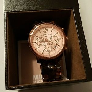 Michael Kors Accessories - Michael Kors Leopard Watch