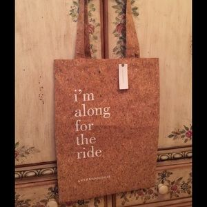 Anthropologie Handbags - 👜NWT ANTHROPOLOGIE TOTE GLITTER ALONG FOR RIDE