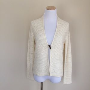 august silk Sweaters - August Silk wood toggle cardigan sz S