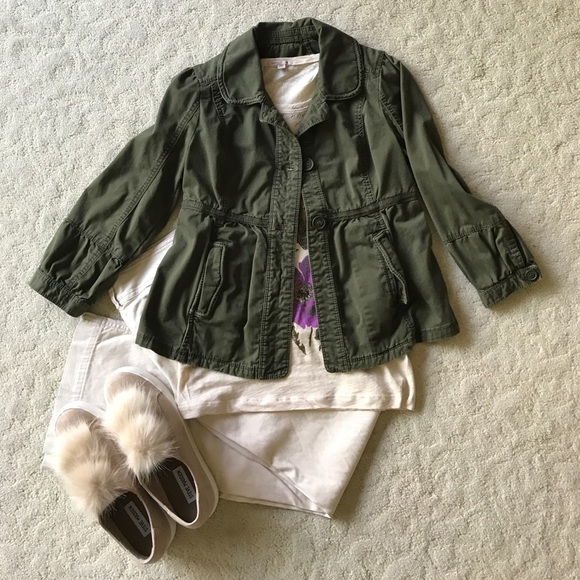 Abercrombie & Fitch Jackets & Blazers - Olive green Abercrombie & Fitch casual jacket
