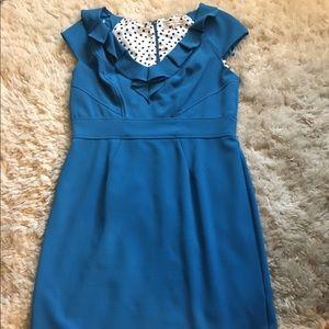 sandra darren Dresses & Skirts - Electric blue pin-up dress
