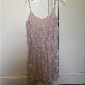 Velvet Torch Dresses & Skirts - Velvet Torch Nude Lace Dress