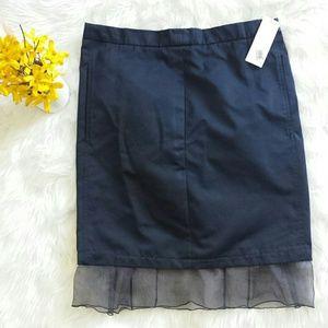 Nina Ricci Dresses & Skirts - Nina Ricci black silk pencil skirt with pockets