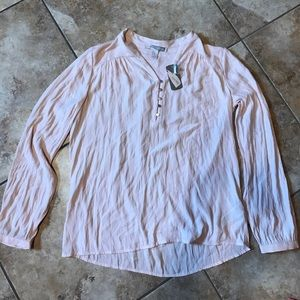 NWT Forever 21 light pink blouse