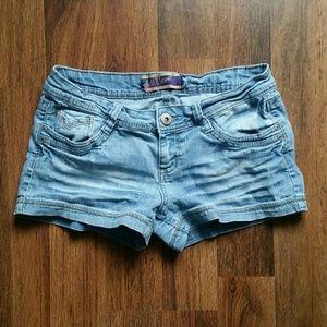 Wallflower Pants - Wallflower denim shorts