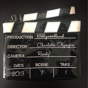 Charlotte Olympia Handbags - 🆕Hollywood/Film Themed Wristlet Handbag