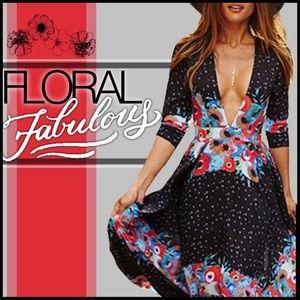 Boutique Dresses & Skirts - Floral Fabulous Maxi