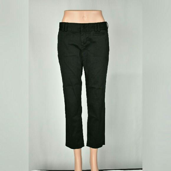 Simple Dockers Mens Navy Blue D2 Straight Fit Flat Front Khaki Cotton Pants