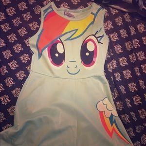 My Little Pony Other - My Little Pony raindbowdash dress
