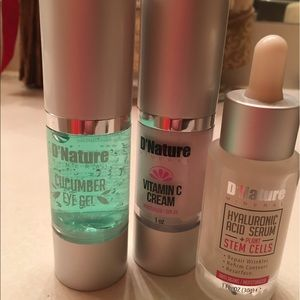Other - D'Nature Facial products . MAC for exposure .