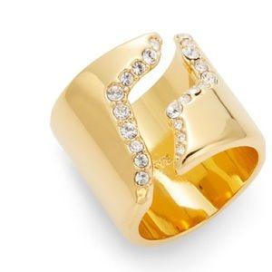 CC Skye Jewelry - CC Skye gold pave ring size 6