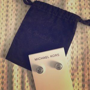 Michael Kors diamond stud earrings