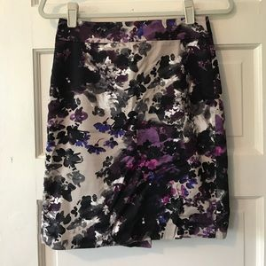 Ann Taylor watercolor pencil skirt