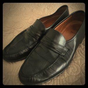 Allen Edmonds Bergano Men's 13 Black Leather Shoes