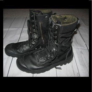 Palladium Other - Palladium Black Tactical Military Boots