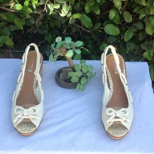 Sperry Top-Sider Shoes - Like new Sperry  top-sider wedges  size 9.5