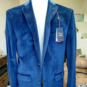 Van Heusen Other - Van Heusen flex blue sport coat jacket 42R