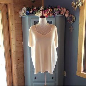 Liz Claiborne Sweaters - LIZ CLAIBORNE Cream Sweater NEW w/Tags!