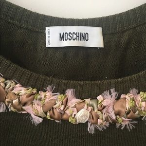 Moschino Tops - Authentic Moschino knit top