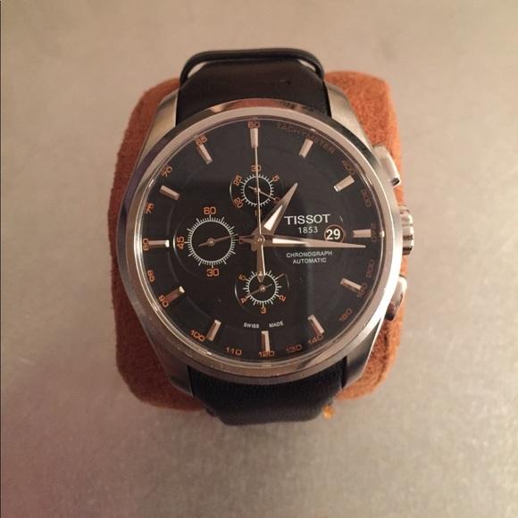 Tissot Accessories   Mens Couturier Automatic Chronograph Watch ... 28da2858b4b