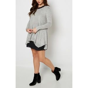Soft Marled Sweater