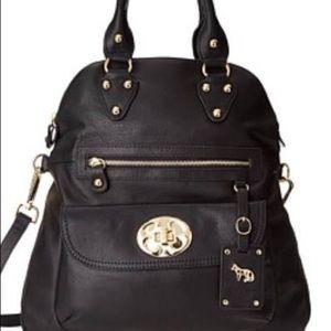 Emma Fox Handbags - Emma Fox Black Leather Bag!