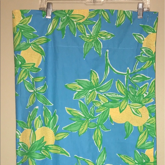 Lilly Pulitzer Juice Stand Shower Curtain