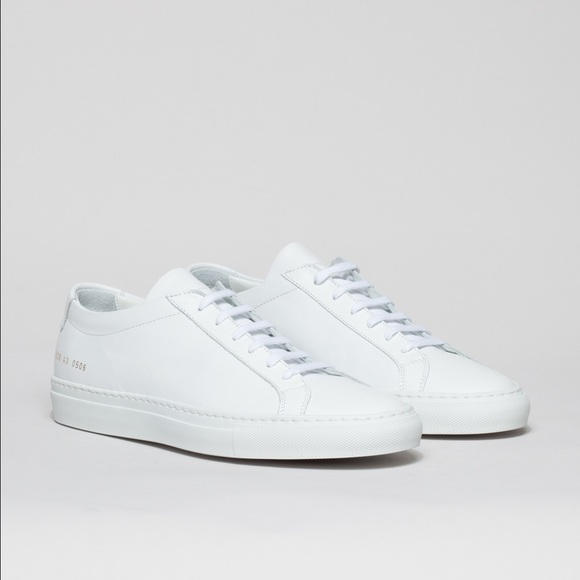 249bdc67dffd3 Common Projects Shoes - Common Projects Achilles Low White Size 40