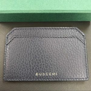 Buscemi Other - Buscemi leather card case Cardholder wallet