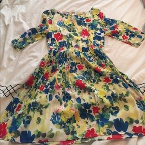 Alice + Olivia Dresses & Skirts - Alice and Olivia floral silk dress size large
