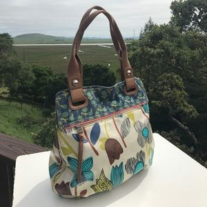 Fossil Handbags - Fossil Key Per Floral Tote Bag