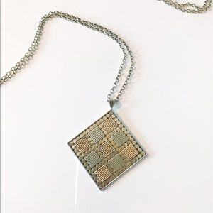 Anna Beck Jewelry - Anna Beck large square pendant necklace
