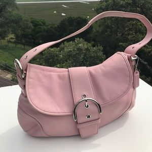 Coach Handbags - Coach Pink Soho Hobo 9248 Leather Bag