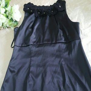 JUST TAYLOR  Dresses & Skirts - JUST TAYLOR SATIN DRESS SIZE 6 STRETCH