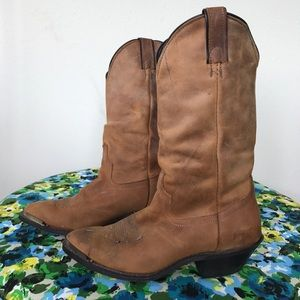 Laredo Shoes - Vintage Laredo cowboy boot - Sz 6 - Made in 🇺🇸