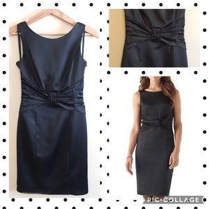 White House Black Market Dresses & Skirts - WHBM Matte Satin Sheath Dress- Worn Once