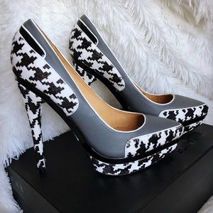 L.A.M.B. Shoes - NWB | L.A.M.B. OHIO II HOUNDSTOOTH PUMP SZ 8.5