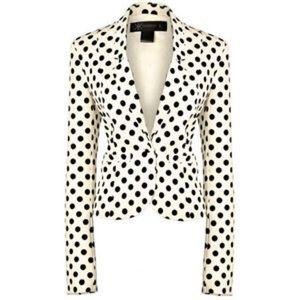 Kardashian Kollection Jackets & Blazers - NWT XS Kardashian Kollection Blazer - Polka dots